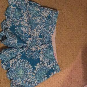NWOT lily Pulitzer shorts size 00